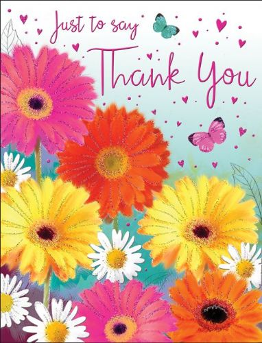 Just To Say Thank You Flowers